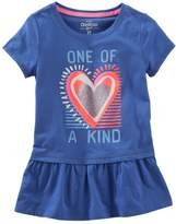 Osh Kosh Oshkosh Bgosh Toddler Girl Graphic Tunic Top