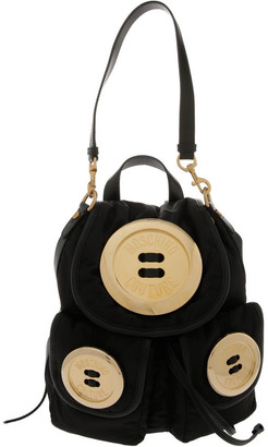 Moschino Button Flap Over Backpack