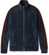 Fanmail Organic Cotton-Velour Track Jacket