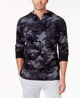 Polo Ralph Lauren Men's Camo Quarter-Zip Thermal Hoodie