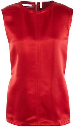 Helmut Lang Open-back Satin Tank