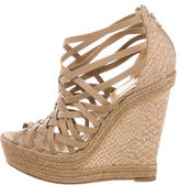 Christian Louboutin Caged Platform Wedges