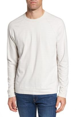 James Perse Shadow Stripe Raglan Pullover