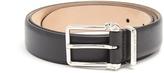 Alexander McQueen Double-skull leather belt