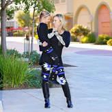 MAYAH KAY FASHION Mayah Kay Fashion Girls Geometric Leggings