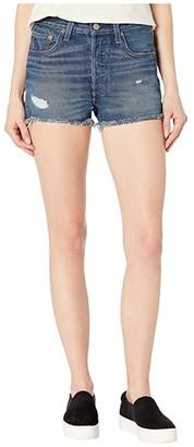 Levi's(r) Premium Premium 501 High-Rise Shorts (Fault Line) Women's Shorts