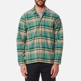Our Legacy Men's Box Long Sleeve Shirt Lemongrass Check