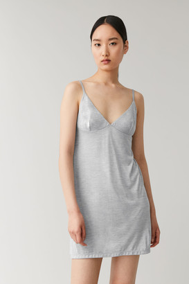 Cos Sleeveless Mulberry Silk Under Dress