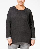 Alfani Plus Size High-Low Pajama Tunic, Only at Macy's