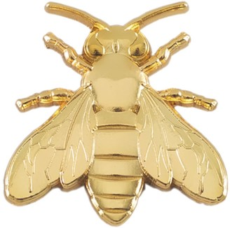 Make Heads Turn Golden Bee Pin
