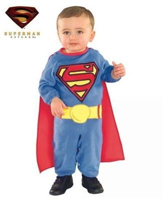 Rubie's Costume Co Rubie's Costumes Superman Toddler Romper