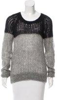 Etoile Isabel Marant Open Knit Long Sleeve Sweater
