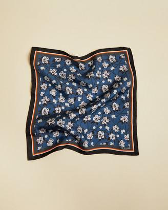 Ted Baker TIGES Floral silk pocket square