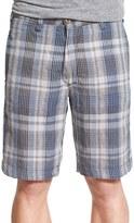 Tailor Vintage Reversible Linen Shorts