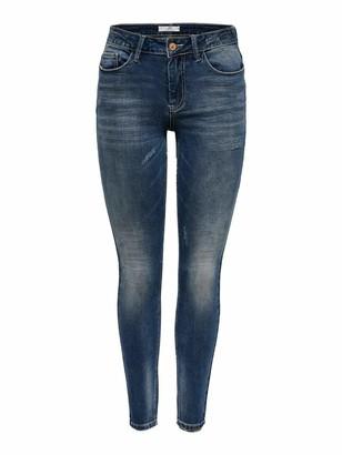 Jacqueline De Yong Women's JDYCAROLA Life RG SKN SUPSTR MB DNM NOOS Jeans