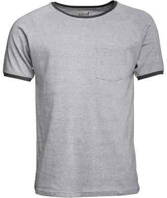 Onfire Mens Short Sleeve Crew Neck T-Shirt Grey Marl