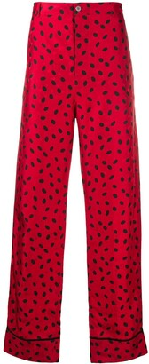 Marni Dotted Monogram Trousers