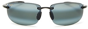 Maui Jim Unisex Hookipa Polarized Square Sunglasses, 64mm