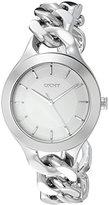 DKNY Women's NY2216 CHAMBERS Silver Watch