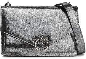 Rebecca Minkoff Jean Metallic Pebbled-leather Shoulder Bag