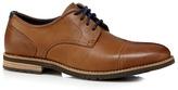 Rockport Tan 'adiprene' Leather Lace Up Shoes