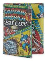 Marvel Captain America Falcon Leather Tri-Fold Wallet