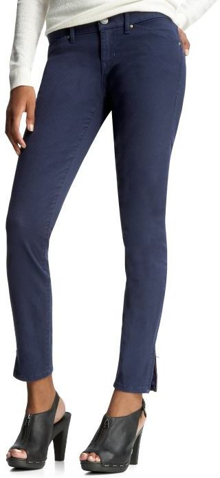 Gap Skinny ankle zipper jeans