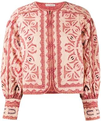 Ulla Johnson Lace Stitched Bomber Jacket