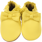 Robeez Yellow Maggie Leather Moccasin
