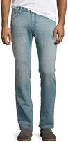 DL1961 Premium Denim Nick Slim Straight-Leg Jeans, Blue