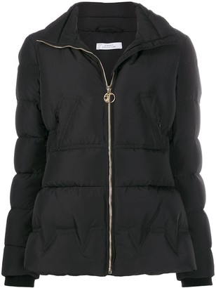 Versace padded funnel-neck jacket