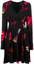 Philipp Plein Markab dress - women - Polyester/Acetate - M