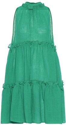 Lisa Marie Fernandez Erica linen-blend gauze minidress