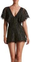 Dress the Population Women's Raven Lace Romper