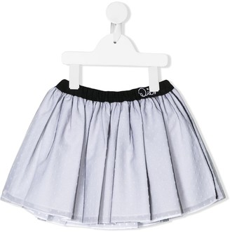 Christian Dior Short Plumetti Skirt