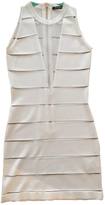 Balmain White Viscose Dress