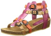 Kickers Girls' Bomdia Open Toe Sandals Pink Size: 1