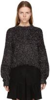 Isabel Marant Grey Oversized Ben Sweater