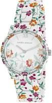 Laura Ashley Women's LA31018J Analog Display Japanese Quartz White Watch