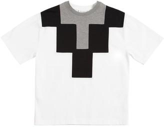 Marcelo Burlon County of Milan Logo Cotton Jersey T-Shirt