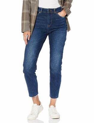 Only Women's Onlemily Hw Straight A DNM Jeans Bj14780