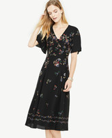 Ann Taylor Modern Folk Fit And Flare Dress