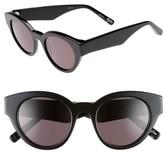 Elizabeth and James Women's Payton 48Mm Cat Eye Sunglasses - Black