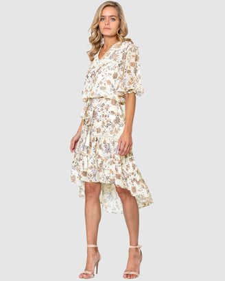 Three of Something Temple Floral Paradise Dress