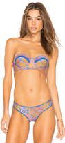 Luli Fama Bandeau Bikini Top