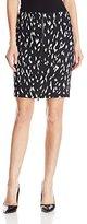 Rachel Zoe Women's Ward Animal Ikat Pencil Skirt