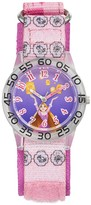 "Disney Princess Rapunzel ""Be Strong"" Kids' Time Teacher Watch"
