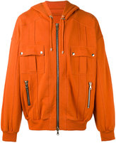 Balmain zip-up hoodie - men - Cotton - S