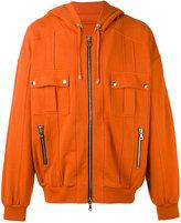 Balmain zip-up hoodie