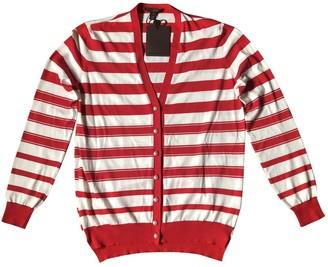 Louis Vuitton Red Cotton Knitwear